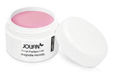 Jolifin Acryl Farbpulver - magnolia metallic 5g