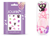 Jolifin Glitter Nailart Sticker 25
