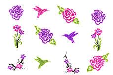 Jolifin Glitter Nailart Sticker 30