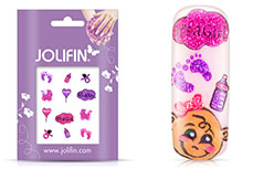 Jolifin Glitter Nailart Sticker 31
