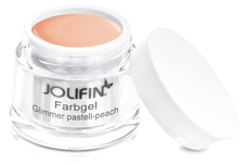 Jolifin Farbgel Glimmer pastell-peach 5ml