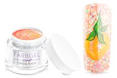 Jolifin Farbgel crystal peach 5ml