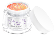 Jolifin Farbgel crystal peach 5ml
