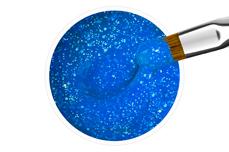 Jolifin Farbgel neon-blue Glitter 5ml