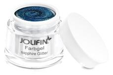 Jolifin Farbgel sapphire Glitter 5ml