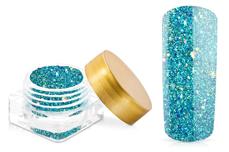 Jolifin Illusion Glitter I Aqua