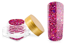 Jolifin Illusion Glitter II Dark Pink