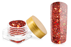 Jolifin Illusion Glitter II Red
