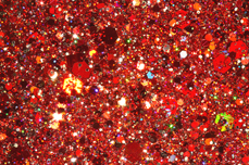 Jolifin Illusion Glitter II Red