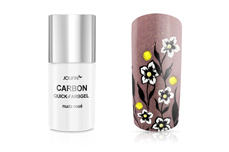 Jolifin Carbon Colors UV-Nagellack nude rose 11ml