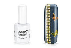 Jolifin Carbon Colors UV-Nagellack anthrazit green 11ml