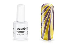 Jolifin Carbon Colors UV-Nagellack dusky violet 11ml