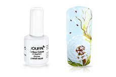 Jolifin Carbon Quick-Farbgel - Glimmer pastell-aqua 14ml