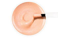 Jolifin Carbon Quick-Farbgel - Glimmer pastell-peach 11ml
