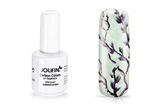 Jolifin Carbon Colors UV-Nagellack Glimmer pastell-mint 11ml