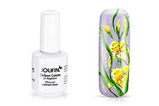Jolifin Carbon Colors UV-Nagellack Glimmer pastell-lilac 14ml