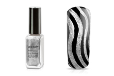 Jolifin Nailart Fineliner silver Glimmer 10ml