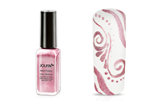 Jolifin Nailart Fineliner rose Glimmer 10ml