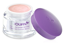 Jolifin Special Edition 4plus Make-Up Cover Gel amber Glimmer 5ml