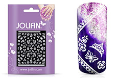 Jolifin White Romance Sticker 5