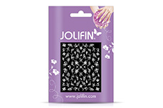 Jolifin White Romance Sticker 33