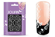 Jolifin White Romance Sticker 34