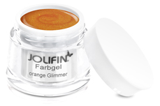 Jolifin Farbgel orange Glimmer 5ml