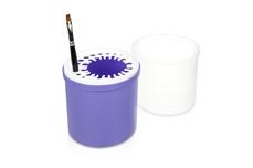 Pinselbox lila