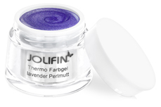 Jolifin Thermo Farbgel 4plus lavender Perlmutt 5ml