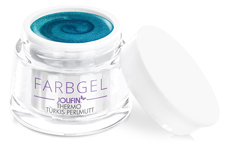 Jolifin Thermo Farbgel türkis Perlmutt 5ml