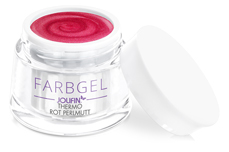 Jolifin Thermo Farbgel 4plus rot Perlmutt 5ml