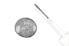 Jolifin Nail-Art Pen silber glitter 10ml