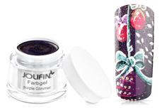 Jolifin Farbgel purple Glimmer 5ml
