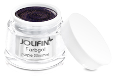 Jolifin Farbgel purple Glimmer 5ml