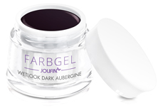 Jolifin Wetlook Farbgel dark aubergine 5ml
