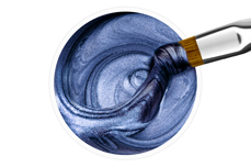 Jolifin Wetlook Farbgel metallic blue 5ml