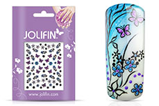 Jolifin Glitter Nailart Sticker 34