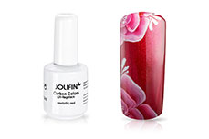 Jolifin Carbon Colors UV-Nagellack metallic red 11ml