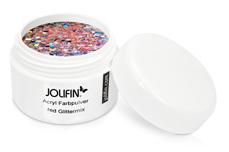 Jolifin Acryl Farbpulver Red Glittermix 5g