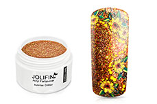 Jolifin Acryl Farbpulver Sunrise Glitter 5g