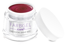 Jolifin Wetlook Farbgel shiny red 5ml