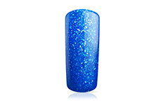Jolifin Carbon Quick-Farbgel - neon-blue Glitter 14ml