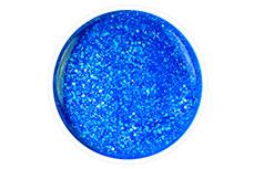 Jolifin Carbon Quick-Farbgel - neon-blue Glitter 11ml