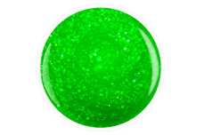 Jolifin Carbon Quick-Farbgel - neon-green Glitter 14ml