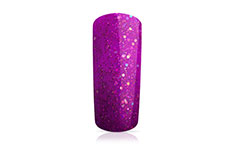 Jolifin Carbon Colors UV-Nagellack neon-purple Glitter 11ml