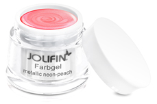 Jolifin Farbgel metallic neon-peach 5ml