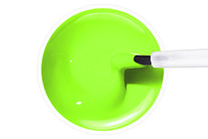 Jolifin Carbon Quick-Farbgel - pastell neon-green 11ml