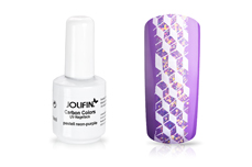 Jolifin Carbon Quick-Farbgel - pastell neon-purple 11ml