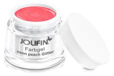 Jolifin Farbgel neon peach Glitter 5ml