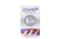 Jolifin 100er Tipbox short cut clear